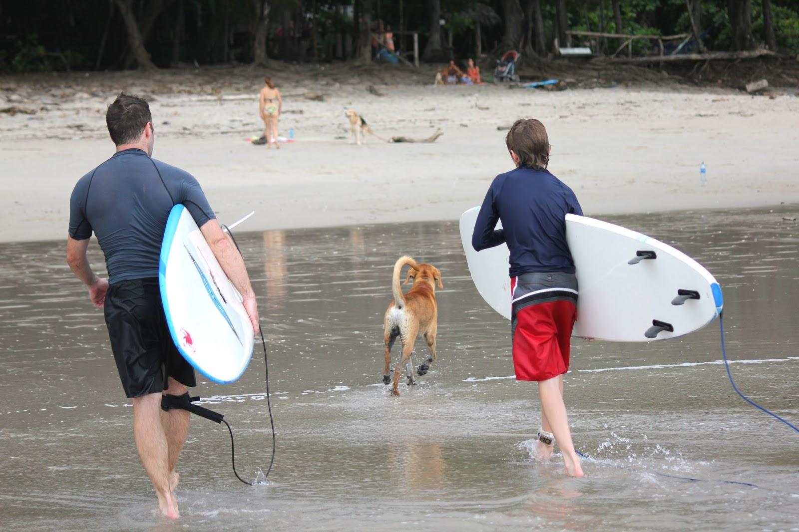 2013 – Samara et Santa Teresa : la plage et le surf…