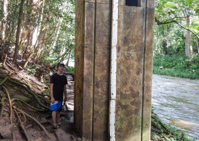 Une échelle pour mesurer la crue des eaux