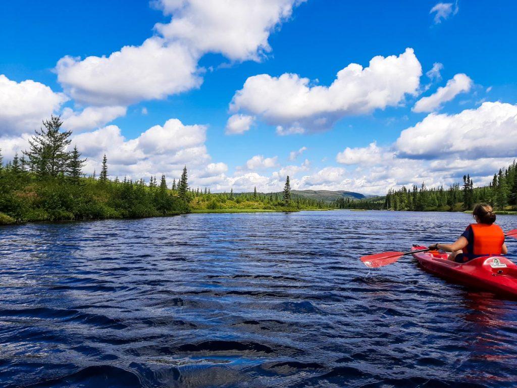 Kayak sur le Lac Arthabaska
