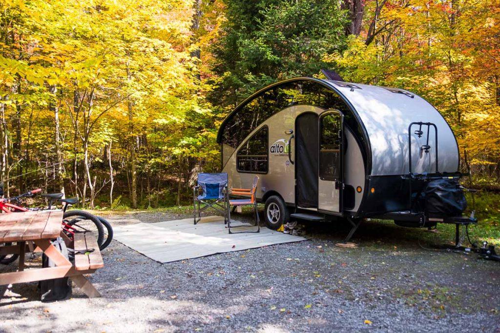 Camping de la Baie Sauvage emplacement #92