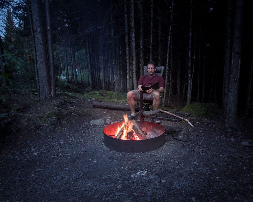 Au camping de l\'Anse à William