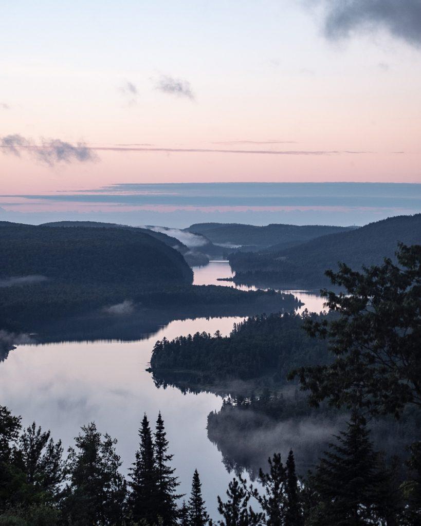 Le lac Wapizagonke