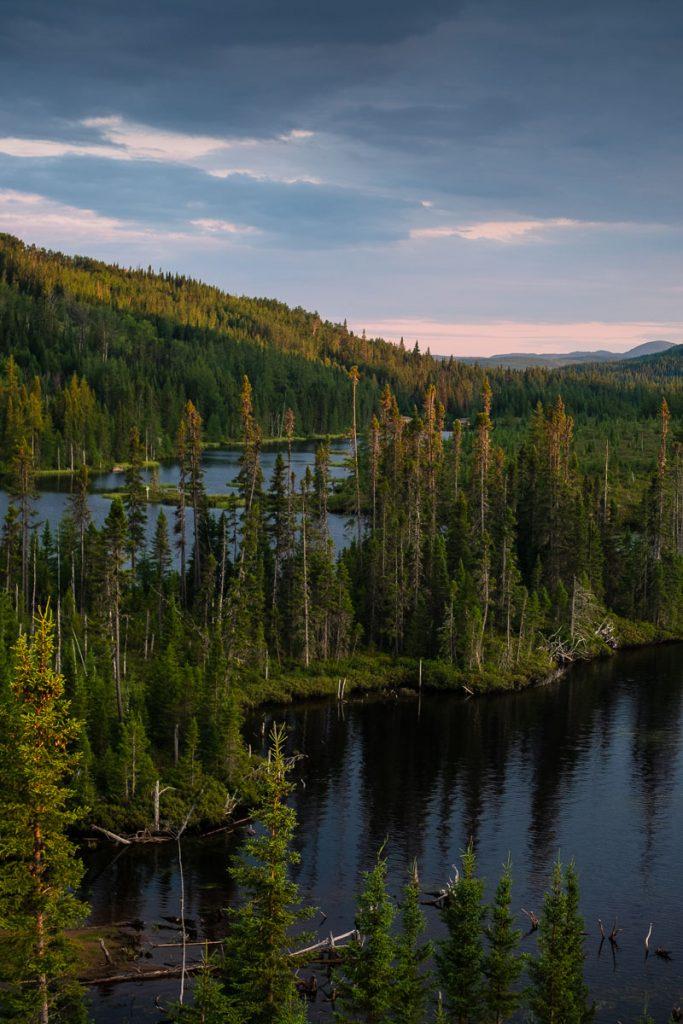Le lac Arthabaska